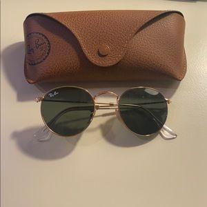 Ray ban round metal classic sunglasses